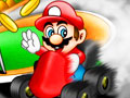 เกมส์ Mario Racing Tournament Game
