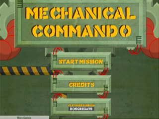 เกมส์ Mechanical Commando