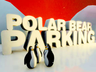 เกมส์ Polar bear parking