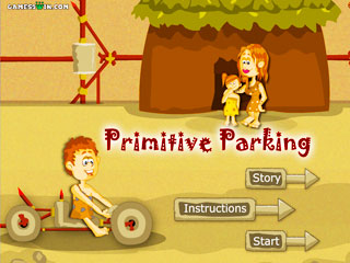 เกมส์ Primitive parking