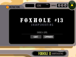 เกมส์ Foxhole 13 - Sharpshooting