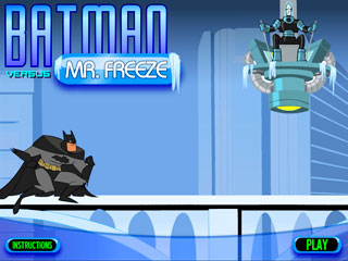 เกมส์ Batman Vs Freeze